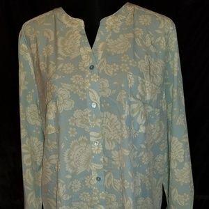 D&Co blouse  sz XL